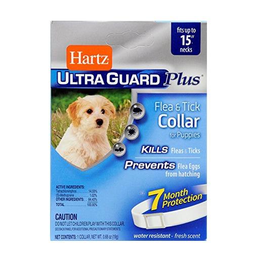 Hartz Ultra Guard Collar Importado Anti garrapatas y pulgas - Para Perros pequeños
