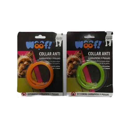 Woof collar antipulgas perros