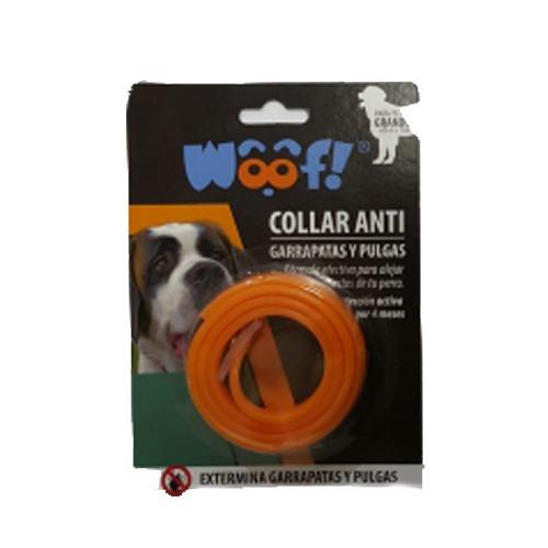 Woof Collar Anti-garrapatas y pulgas Para Perros Grandes