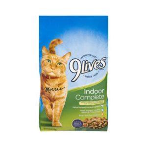 9 Lives Indoor Cat Alimento para Gatos Importado sabor a Salmón