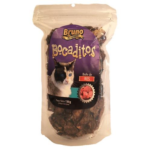 Bruno Bocaditos para Gatos - Sabor a Res