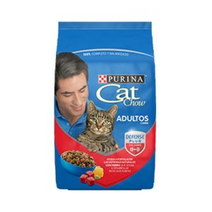purina cat chow adultos carne