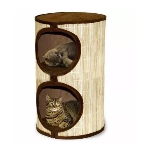 Penn Plax Casa Parque Doble Para Gatos