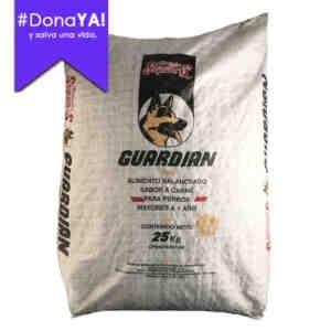 Dona YA! Guardian - Alimento balanceado para perros mayores a 1 año. Saco de 25kg