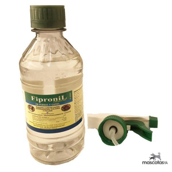 Fipronil Spray Antipulgas Y Garrapatas - 300ml