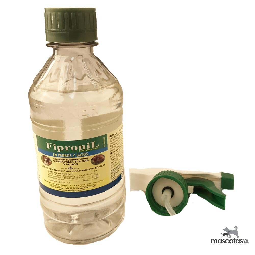 Fipronil Spray Antipulgas Y Garrapatas - 300ml