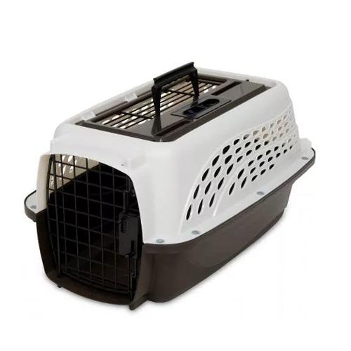 Petmate Kennel Viaje En Cabina, 48x29x25 cm - Para perros y gatos de 5 kg