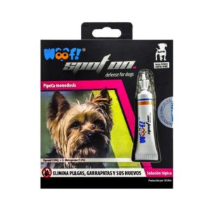 Woof Pipeta Monodosis Spot On, 0.67ml - Perros de 0 a 10kg