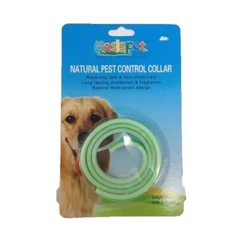 collar antipulga oasis para perros