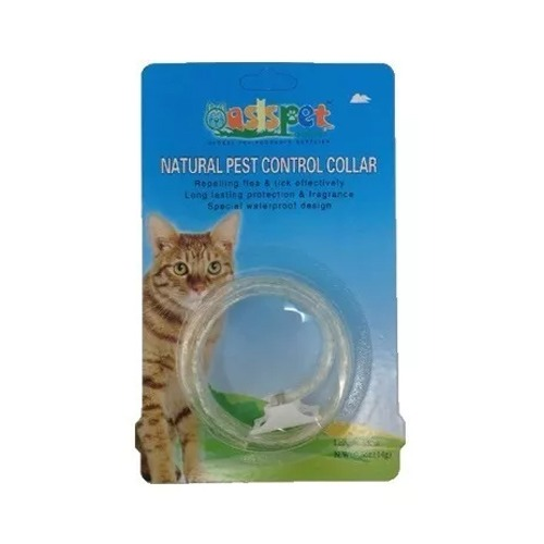 collar antipulga oasis gato