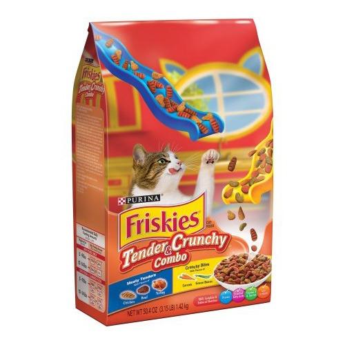 Purina Friskies tender and crunchy alimento importado para gatos