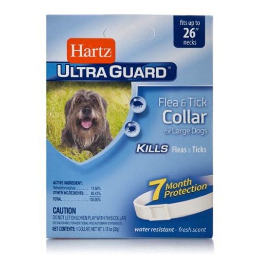 Hartz Ultra Guard Collar Importado Anti garrapatas y pulgas - Para Perros Grandes