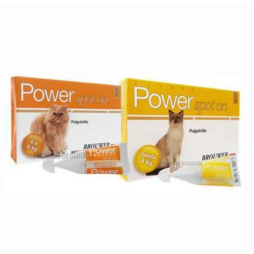 Brouwer Power Forte Pipeta Importada - Gatos de varios tamaños
